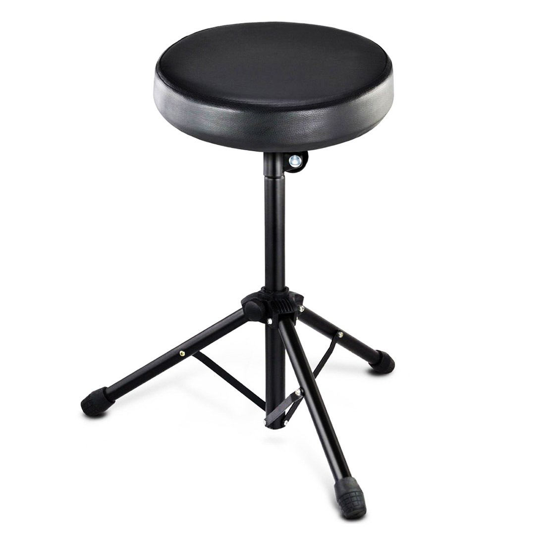 Drum Chair Foldable Drum Stool Throne Chair Seat Music Piano Keyboard