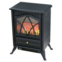1850W Log Burner Flame Effect Electric Fireplace Stove ...