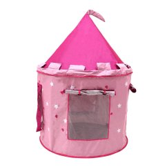 Children S Pop Up Chairs Chair Slipcover T Cushion Childrens Kids Pink Castle Play Tent Fairy Princess