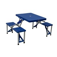 Portable Folding Outdoor Picnic Table and Bench Set 4 ...