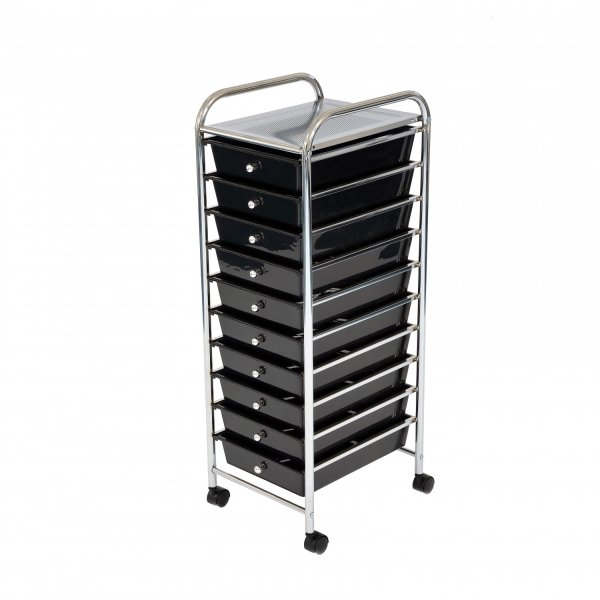 Drawer Storage Mobile Makeup Salon Trolley Portable Organiser - 29.99 Oypla Stocking