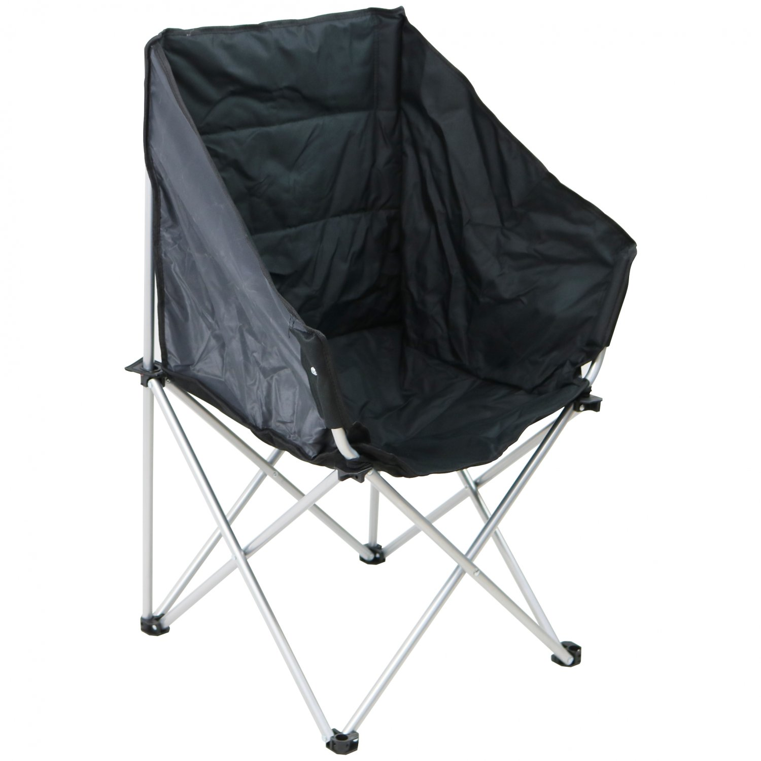 Folding Outdoor Portable Camping Padded Tub Moon Chair