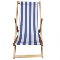 Traditional Folding Hardwood Garden Beach Deck Chairs ...
