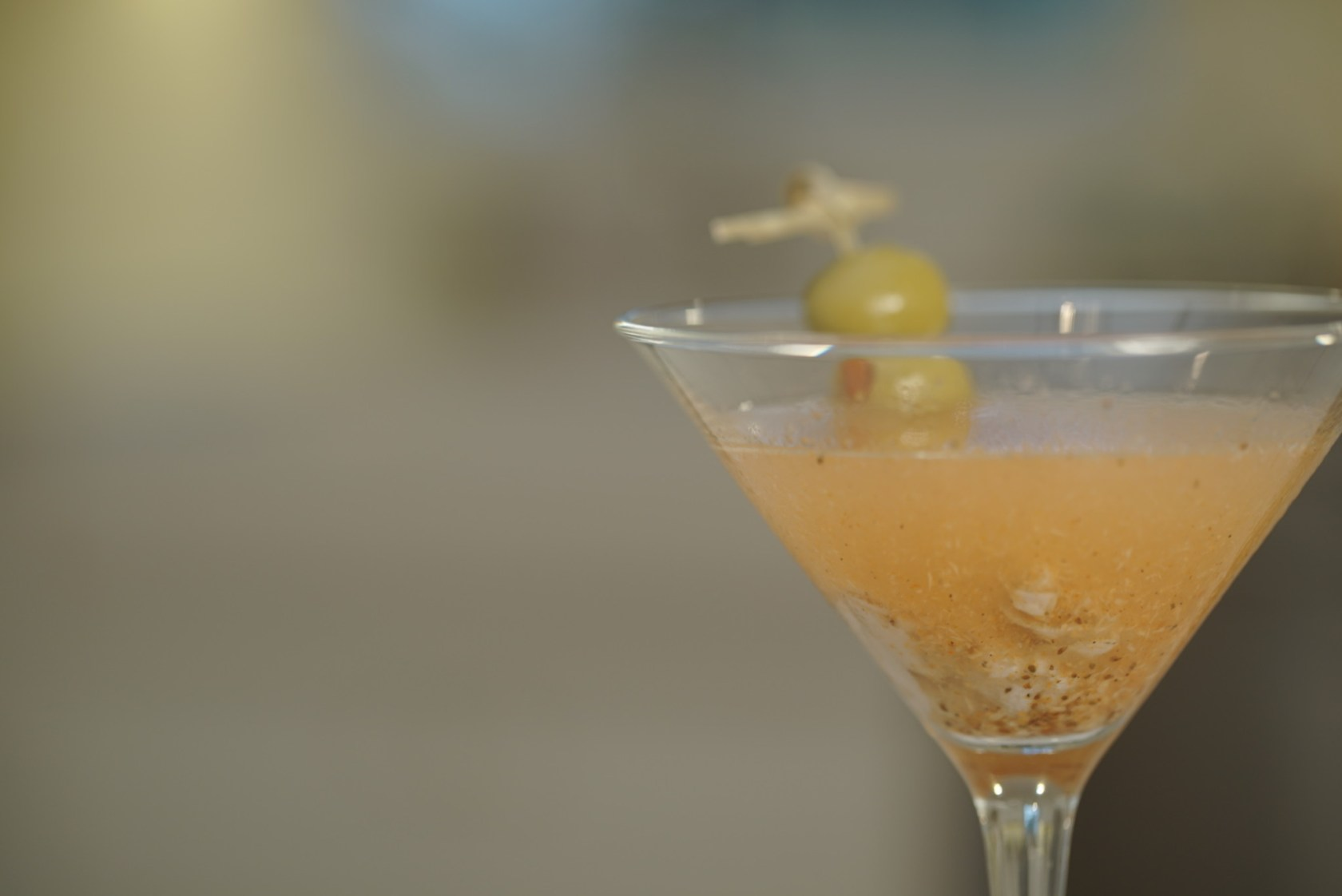 Dirty Martini Oyster Shooter