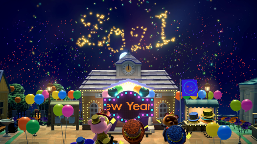 How to Celebrate New Year's - Animal Crossing: New Horizons Wiki Guide 9