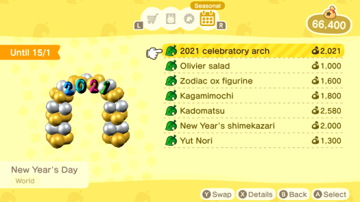 How to Celebrate New Year's - Animal Crossing: New Horizons Wiki Guide 13
