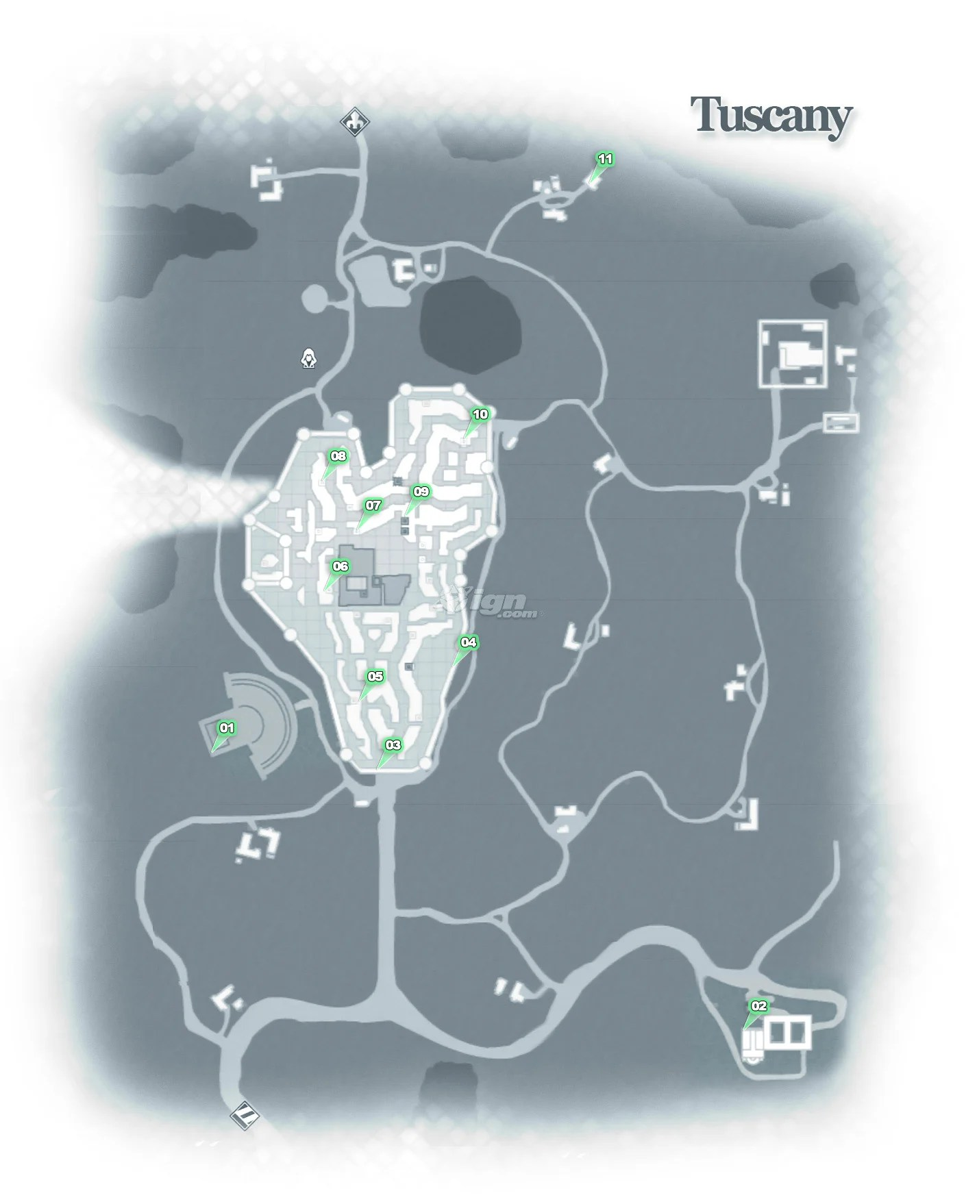 Assassin's Creed 2 Feather Locations : assassin's, creed, feather, locations, Tuscany, Assassin's, Creed, Guide