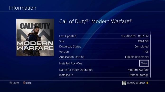 How Many Gb Is Modern Warfare Call Of Duty Modern Warfare Wiki Guide Ign