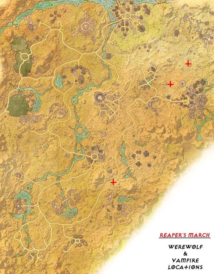 Eso Reaper's March Treasure Map 5 : reaper's, march, treasure, Vampire, Elder, Scrolls, Online, Guide