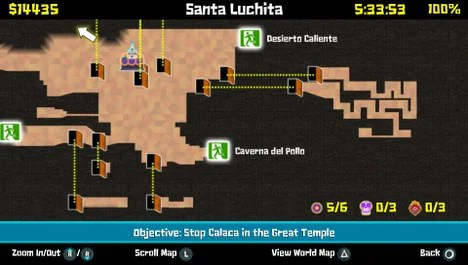Maps Guacamelee Wiki Guide IGN