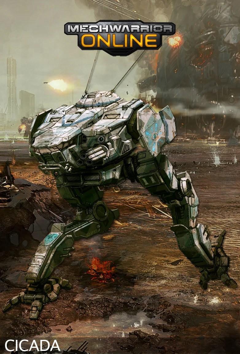 Battlemech Gallery Mechwarrior Online  IGN Boards