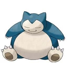 Snorlax i Pokemon GO