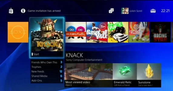 Playstation 4 User Interface Playstation 4 Wiki Guide Ign