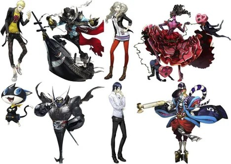 Characters Persona 5 Wiki Guide IGN