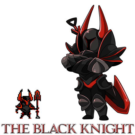 Fall Of The Lich King Wallpaper The Black Knight Shovel Knight Wiki Guide Ign