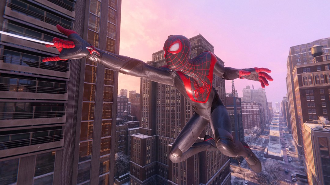 Image result for PS5 Miles morales air dive