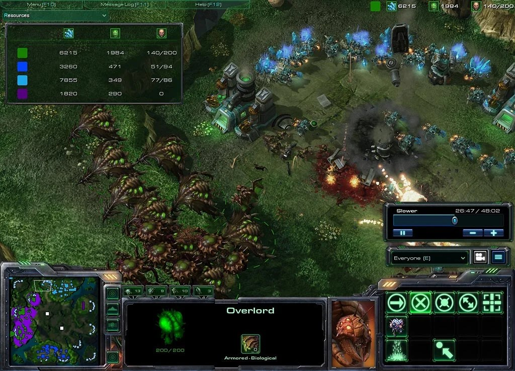 air units starcraft ii