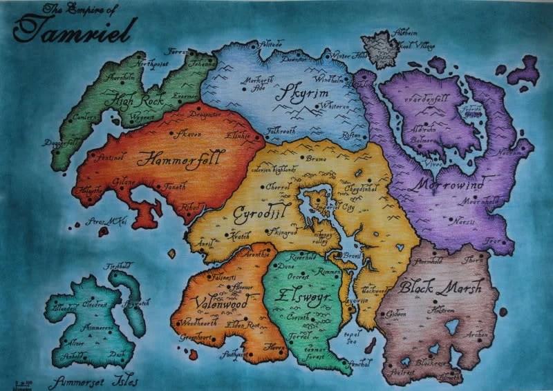 Tamriel - The Elder Scrolls V: Skyrim Wiki Guide - IGN