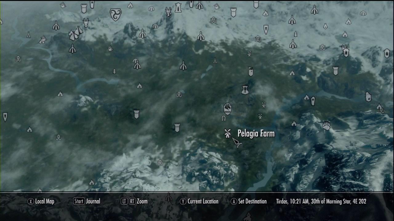 Pelagia Farm The Elder Scrolls V Skyrim Wiki Guide IGN