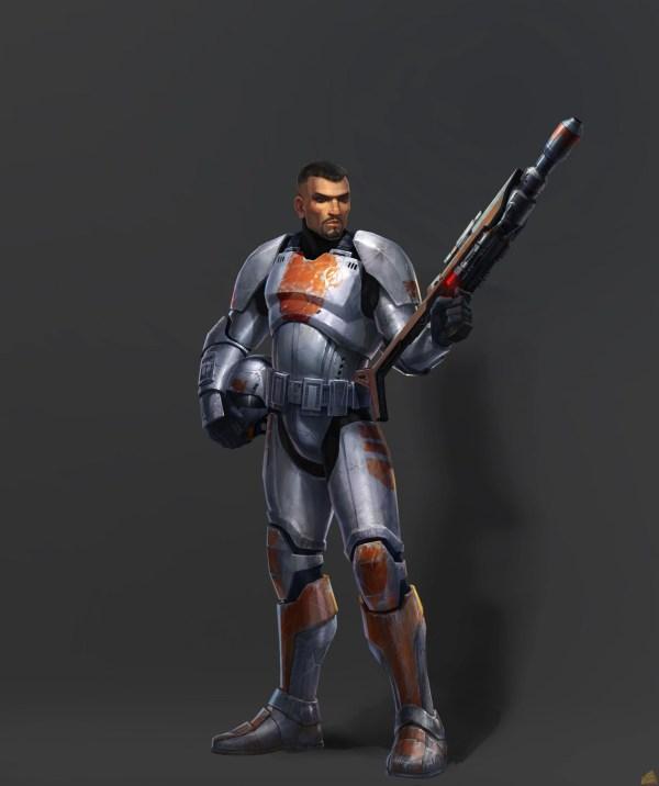 Star Wars Old Republic Character Art
