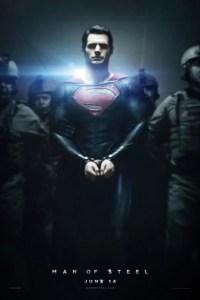 Poster for 2013 superhero reboot Man of Steel