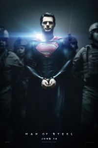 Poster for 2013 action film Man of Steel