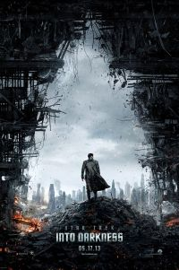 Poster for 2013 sci-fi film Star Trek Into Darkness