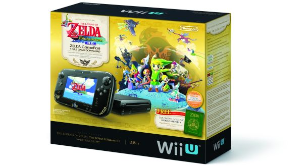 Wii U Deluxe Zelda Wind Waker HD Bundle
