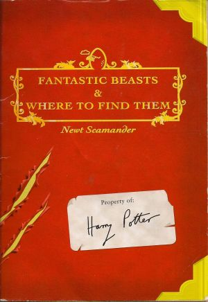 The Fantastic Beasts and Where to Find Them book that inspired the film.