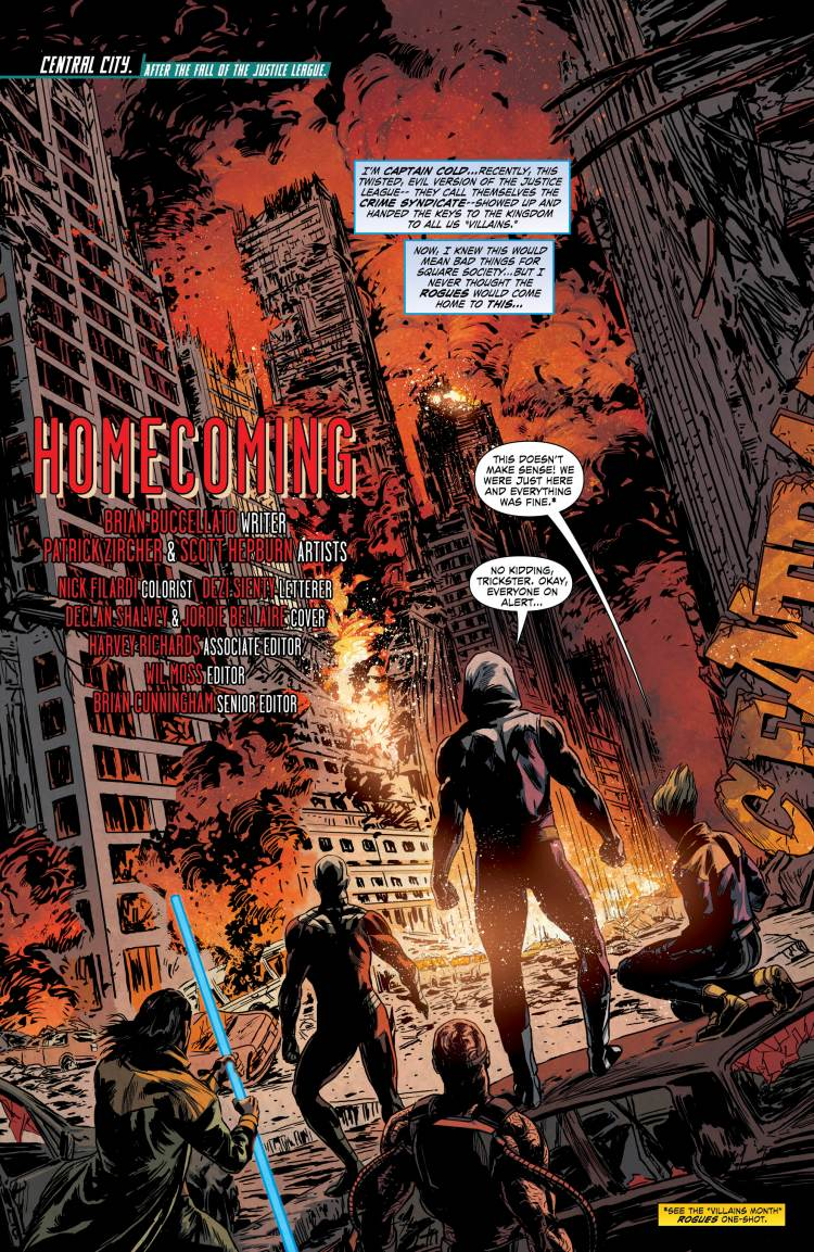 Forever Evil: Rogues Rebellion #1