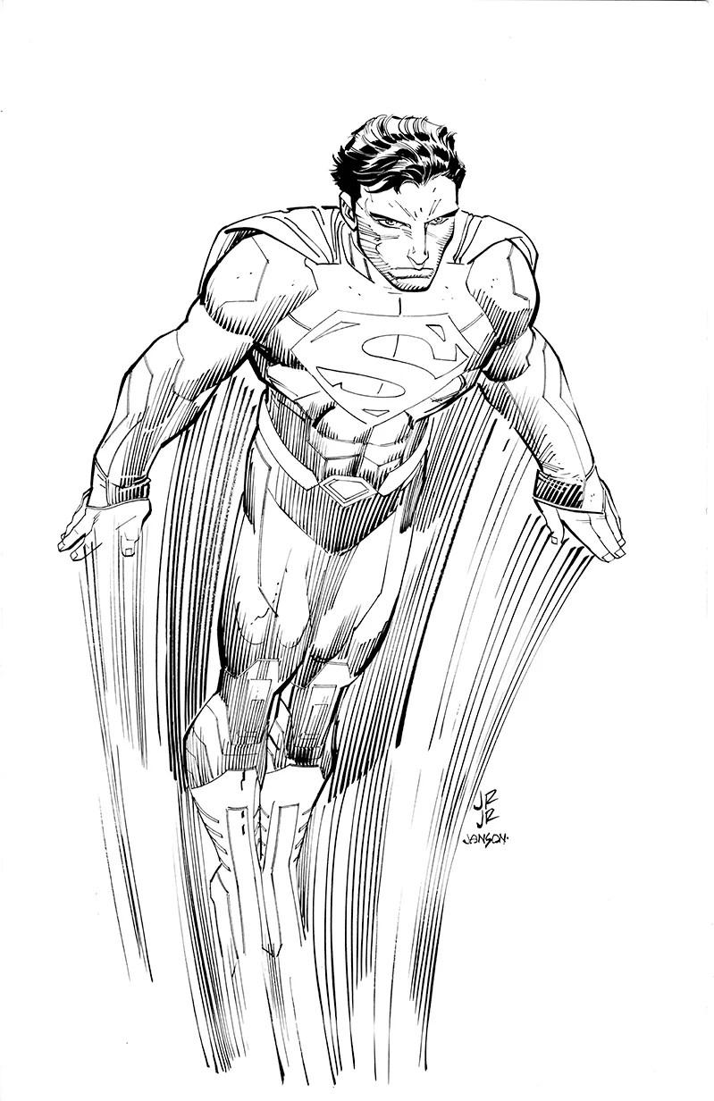 Marvel Artist John Romita Jr. Goes to DC to Draw Superman