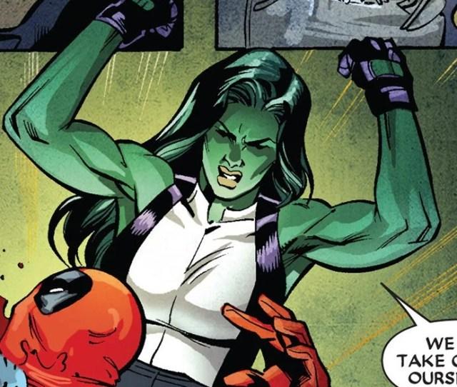 She Hulk In Deadpool Killustrated