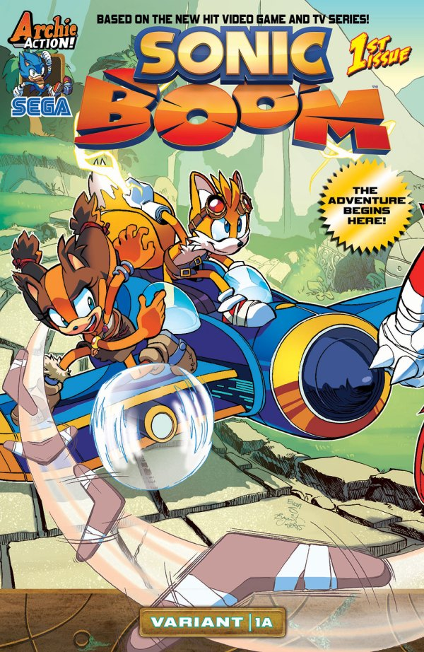 Archie To Publish Sonic Boom Comic Book Series IGN