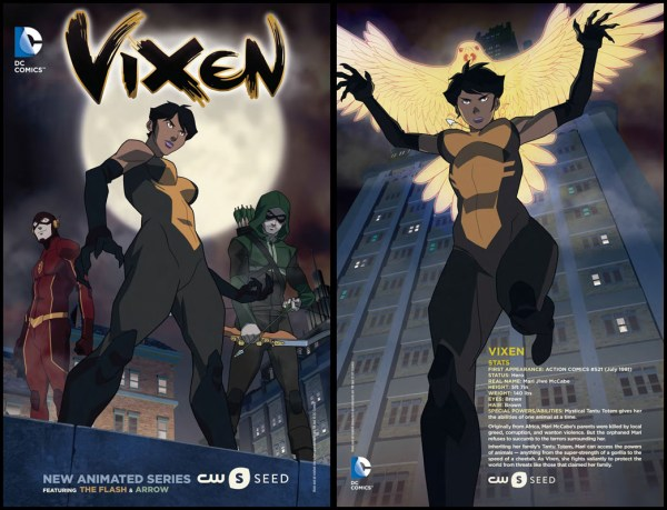 Dc' Vixen Cw Seed - Animated Series In Arrowithflash