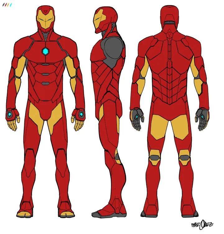 Iron_Man_Turnaround_by_David_Marquez
