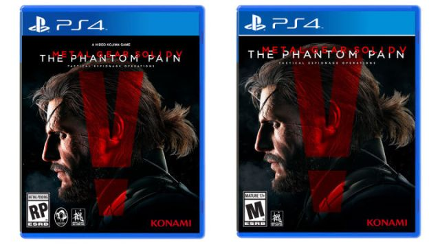 Hideo Kojima's Name Removed From Metal Gear Solid 5 Box Art