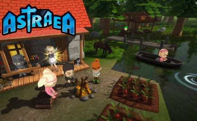 Sandbox Town Building Game Astraea Coming To Ps4 And Pc Ign