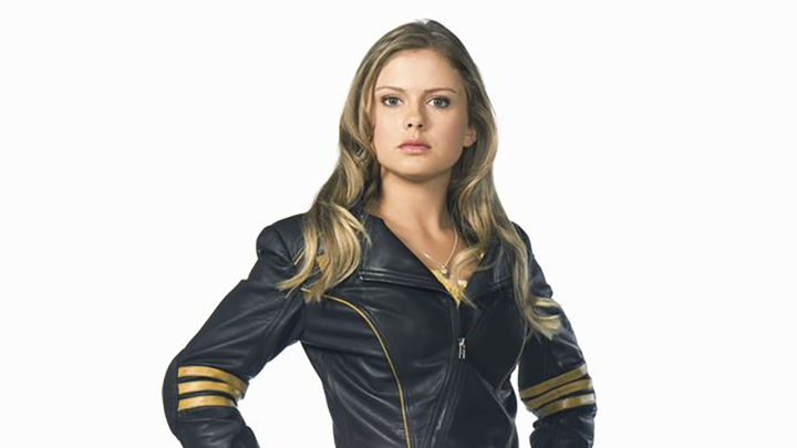 Rose McIver in Power Rangers RPM.