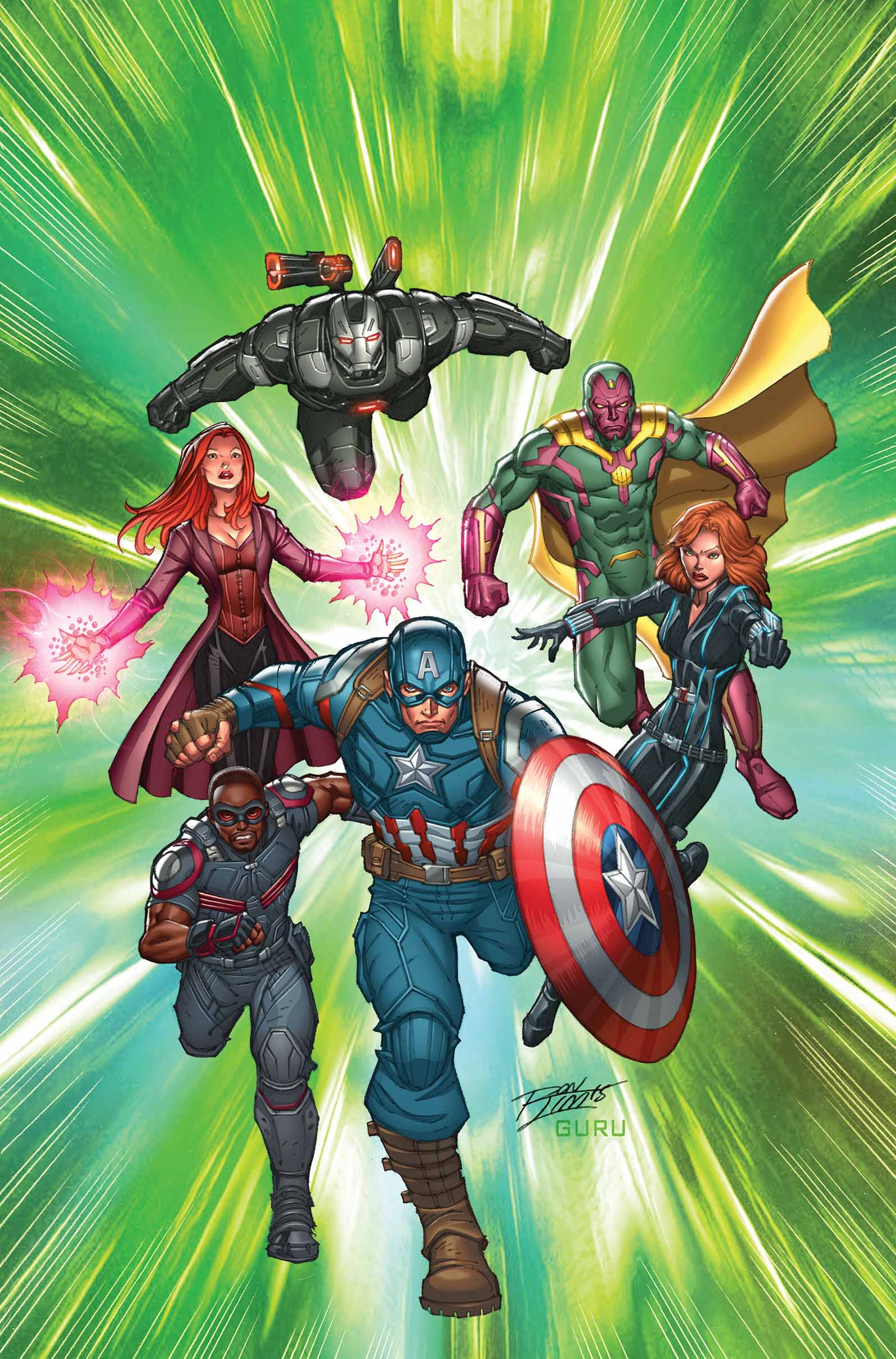 Marvel Comics Solicitations For April 2016 IGN