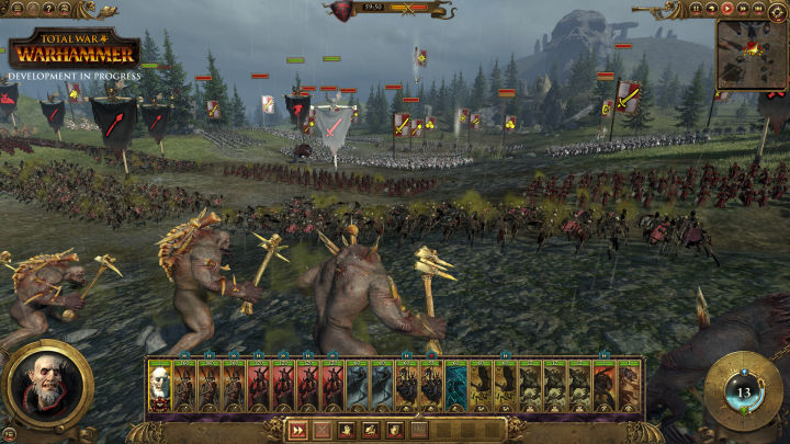 A real-time battle with hundreds of units.