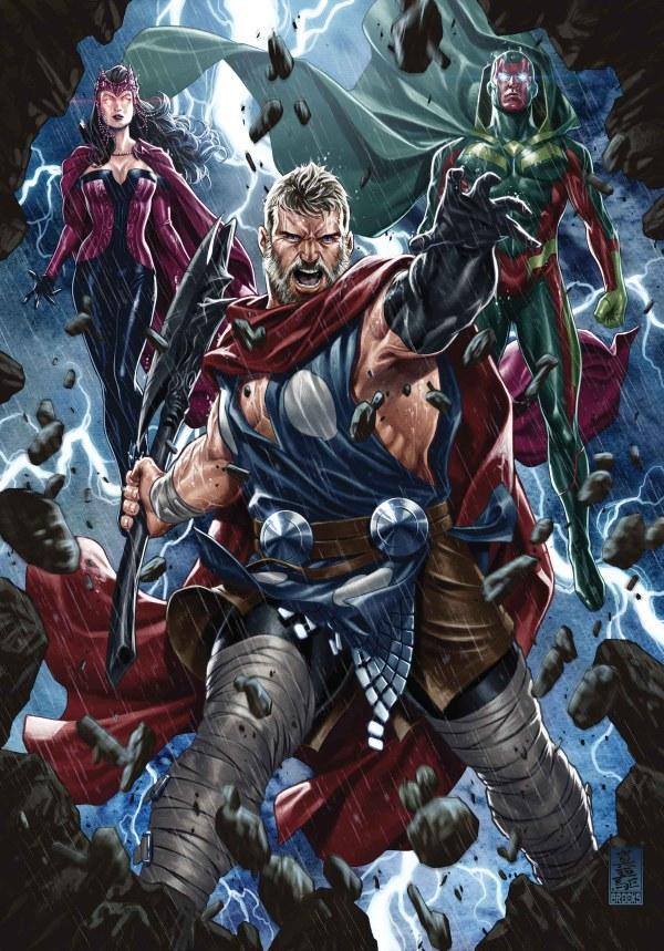 Marvel Comics Solicitations July 2017 - Ign