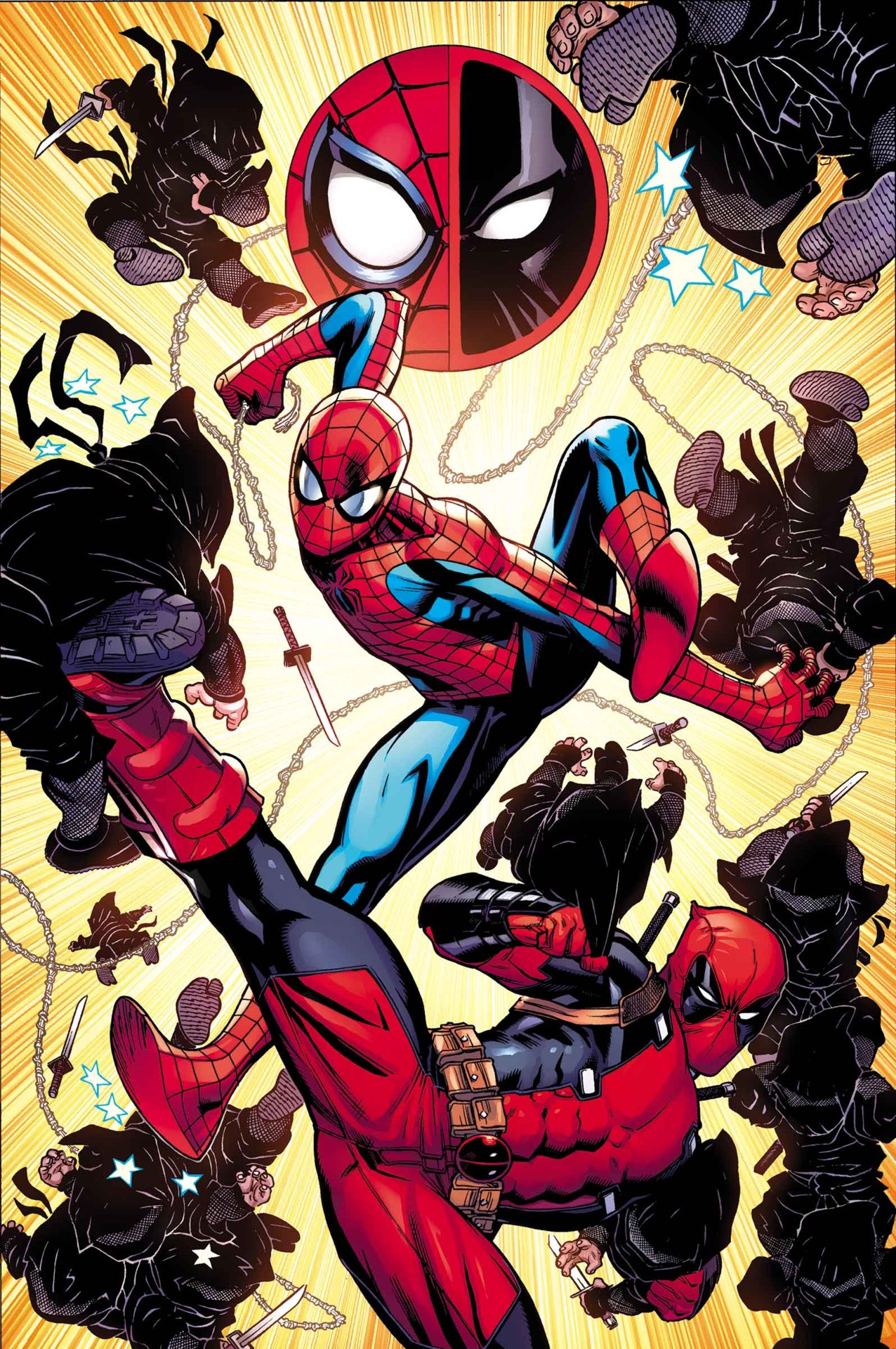 Comic Con Spider Man And Deadpool Will Feud In