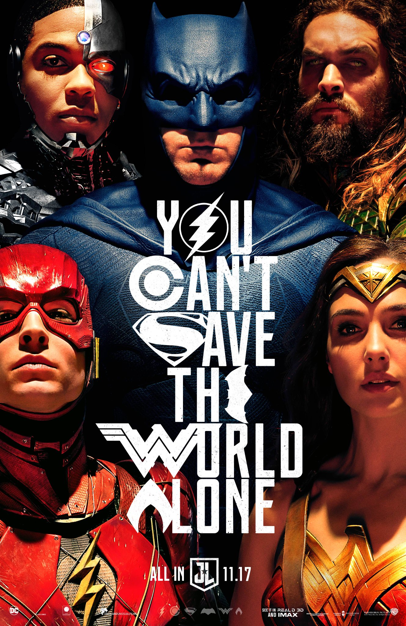 Comic-Con 2017: New Justice League Poster Revealed - IGN