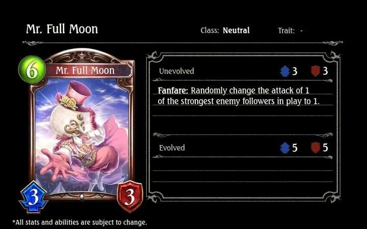 Mr. Full Moon.