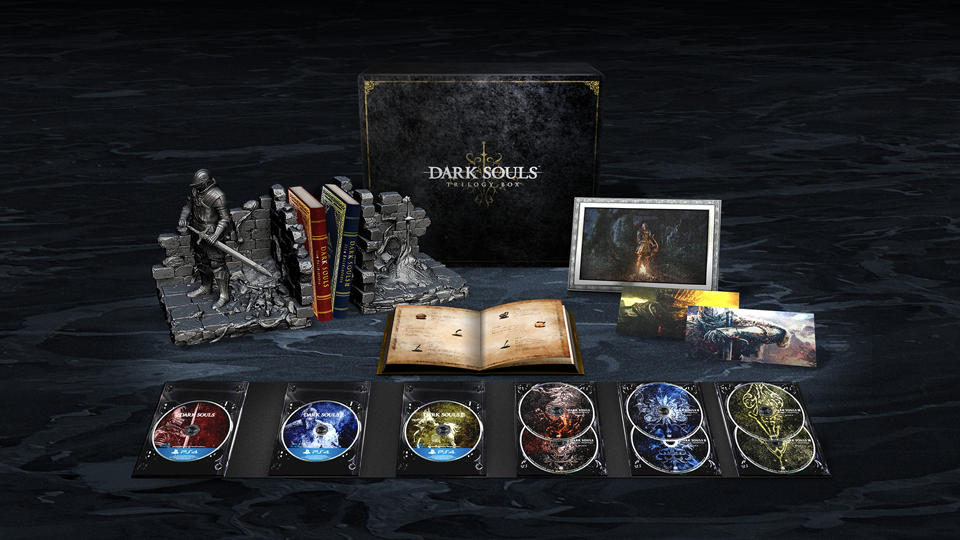 Image result for Dark souls trilogy box