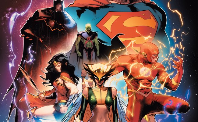 New Justice League Comic Uses Animated Series Roster Ign