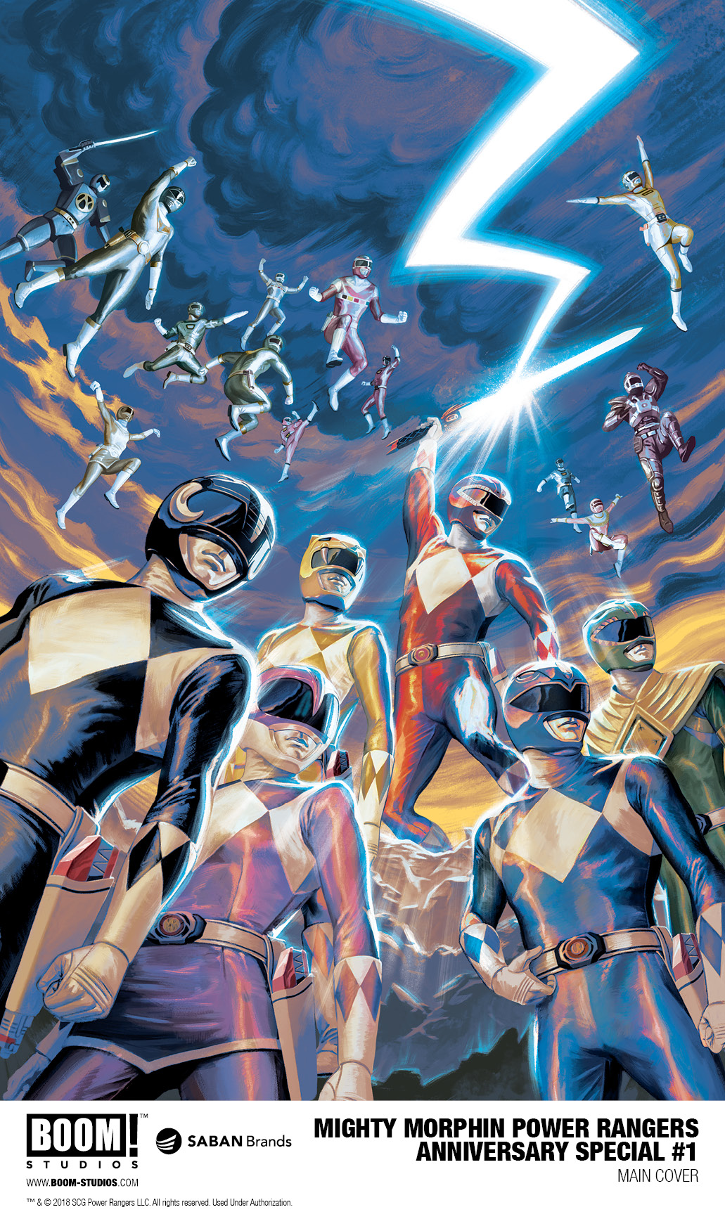 Mighty Morphin Power Rangers Anniversary Special Is a Love Letter to the Franchise  IGN