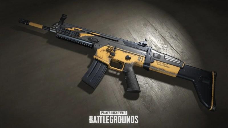 pubg anniversay weapon skin