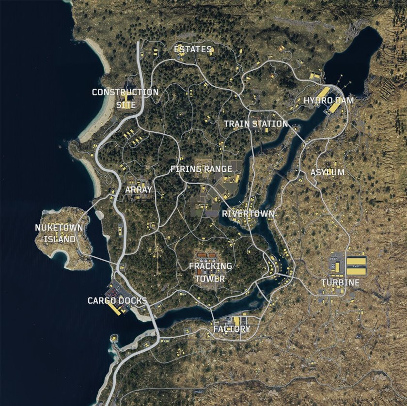 CoD Blackout Map