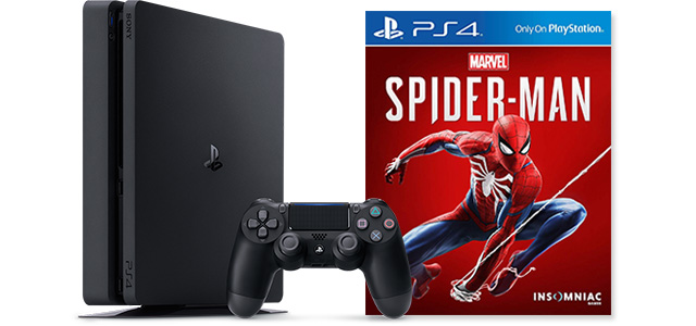 ps4slimspidermanbundle